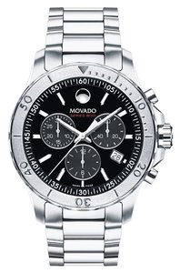 Movado New Movado Men's Swiss Series 800 Stainless Steel Bracelet Watch 42mm 2600110