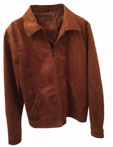 Giorgio Armani Brown Leather Jacket