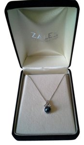 Zales Blue Cultured Pearl