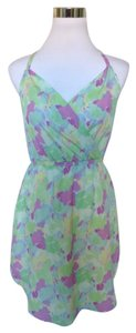 Gentle Fawn short dress Green Abstract Summer on Tradesy