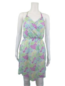 Gentle Fawn short dress Green Pastel Abstract Summer on Tradesy