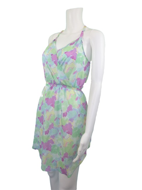 Gentle Fawn short dress Green Pastel Abstract Summer on Tradesy Image 1