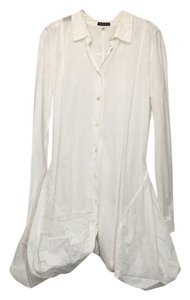 Ann Demeulemeester short dress White Button Down Petticoat on Tradesy