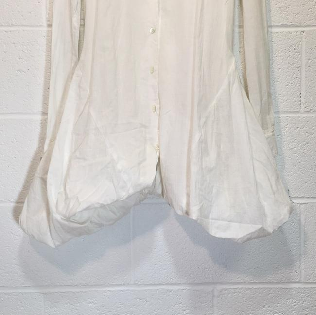 Ann Demeulemeester short dress White Button Down Petticoat on Tradesy Image 1