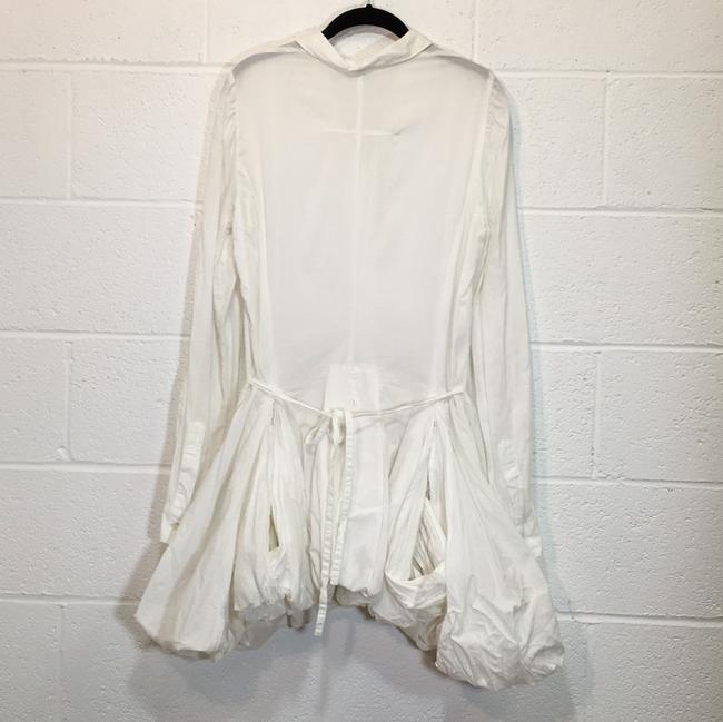 Ann Demeulemeester short dress White Button Down Petticoat on Tradesy Image 3