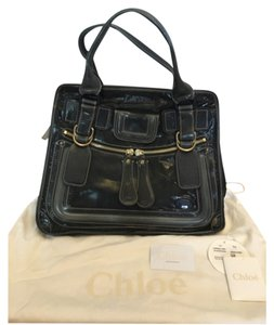 Chloé Tote in Dark blue/Gray