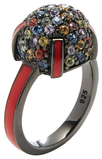 Preload https://img-static.tradesy.com/item/11617663/mcl-by-matthew-campbell-laurenza-multicolor-sapphire-enamel-silver-cocktail-ring-0-1-540-540.jpg