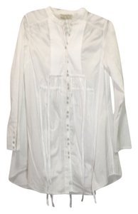 AllSaints short dress White Pleated on Tradesy