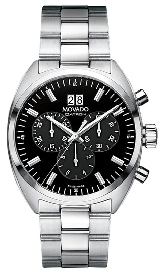 Preload https://img-static.tradesy.com/item/11617957/movado-stainless-steel-new-men-s-swiss-chronograph-datron-bracelet-40mm-0606476-watch-0-1-540-540.jpg