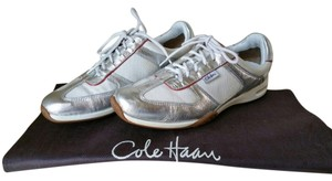 Cole Haan Silver & White Athletic