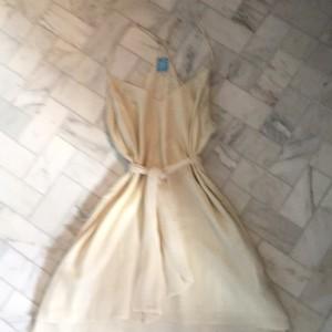 Barneys Co-Op short dress Cream on Tradesy