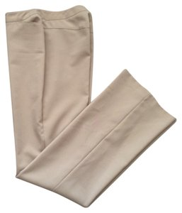 New York & Company Trouser Pants Tan Khaki