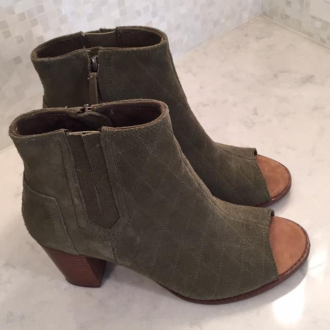 Item - Olive Suede Majorca Quilted Boots/Booties Size US 8 Regular (M, B)