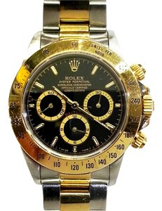 Rolex ROLEX Daytona Cosmograph 18 Karat Gold & Stainless Steel Watch