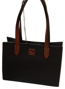Dooney & Bourke R206a Bm Small Pebbled Leather Tote in Brown T-Moro