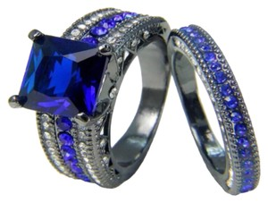 Other 6.8CT 2pc Wedding Ring Set