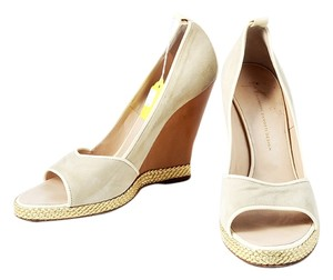 Giuseppe Zanotti Guiseppe Suede Beige Wedges