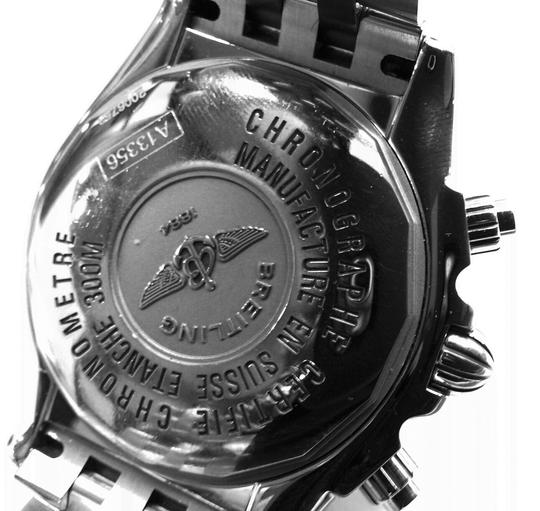 Breitling BREITLING A13356 Chronographe Automatic Watch With Diamonds on Bezel and Dial Image 6