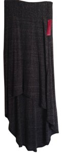 Xhilaration Maxi Skirt Charcoal