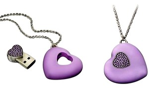 Swarovski New in Box - USB Heart Necklace 1116974