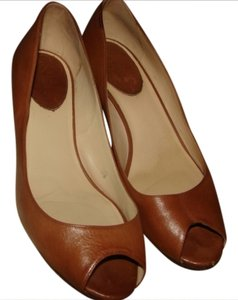 Cole Haan 10b Leather Brown Pumps