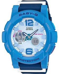 Baby-G Casio Baby-G BGA180-2B3CR Blue Analog-Digital Watch