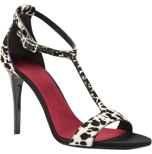 Burberry Prorsum Pump Round Luxury Leather Multi Color Sandals Image 0