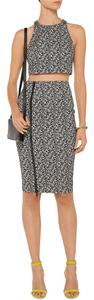 Elizabeth and James Pencil Skirt Black and White