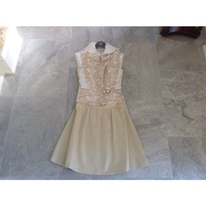 Chanel Creme, Off White, Pearls Dress