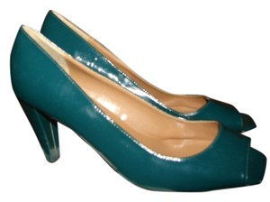 Mauro Pisani 11b Teal Pumps