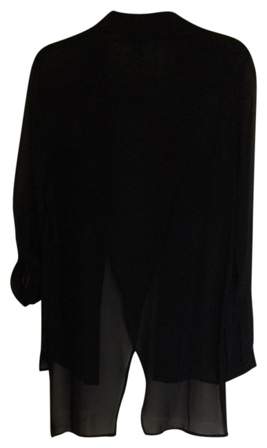 Preload https://item2.tradesy.com/images/kenneth-cole-black-blouse-size-8-m-1162126-0-0.jpg?width=400&height=650