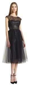 Monique Lhuillier Party Gala Prom Wedding Formal Dress