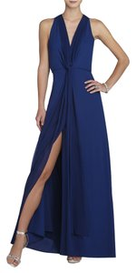 BCBGMAXAZRIA Gown Prom Blue Dress