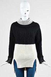 Prabal Gurung Black Cream Sweater