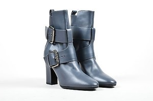 Pierre Hardy Leather Gray Boots