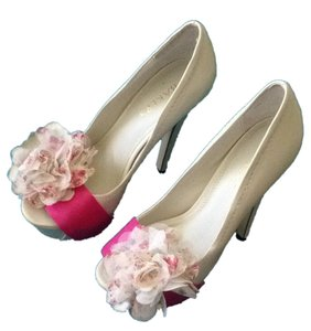 Bakers Cream And Pink Pumps