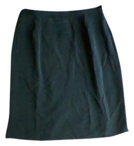 Jones New York 100 % Silk Skirt Teal