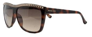 Michael Kors Michael Kors EMERSON Crystal Brown Wayfarer Inspired Sunglasses