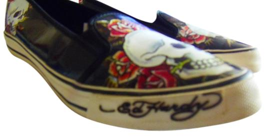 Ed Hardy Skull 8m Black/Multi Athletic