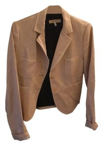 See by Chloé Peach and Creme Blazer