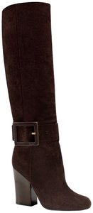 Gucci Kesha Suede Knee High Us 7.5 Brown Boots