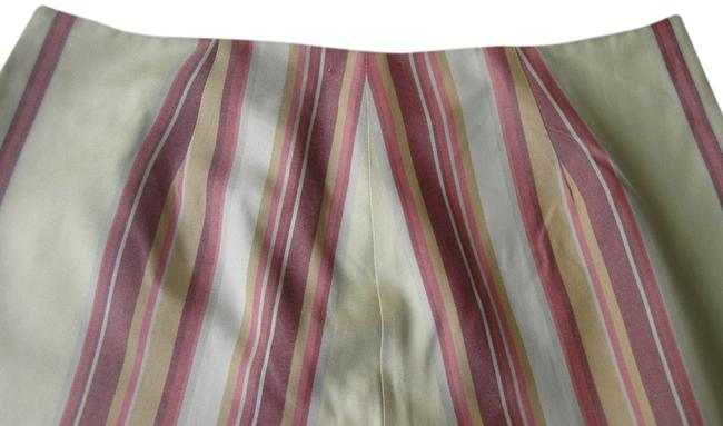 Tommy Bahama Trouser Pants Butter Yellow with Multi Stripes