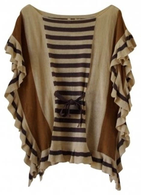 Preload https://item5.tradesy.com/images/anthropologie-beige-linen-and-cotton-with-front-tie-sweaterpullover-size-12-l-11624-0-0.jpg?width=400&height=650