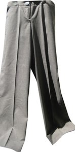 Bill Blass Trouser Pants Brown Multi Mini Houndstooth