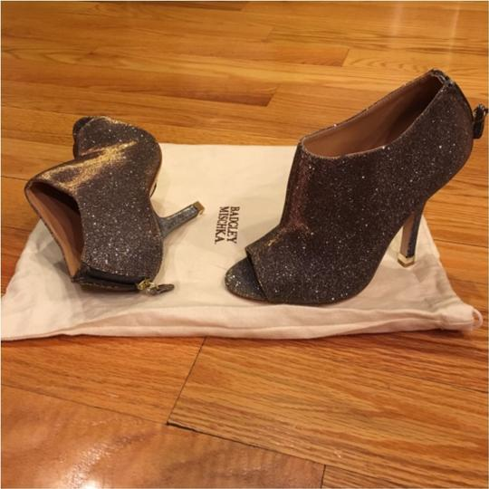 Badgley Mischka Pewter with Gold/Silver/Bronze sparkles Formal Image 1