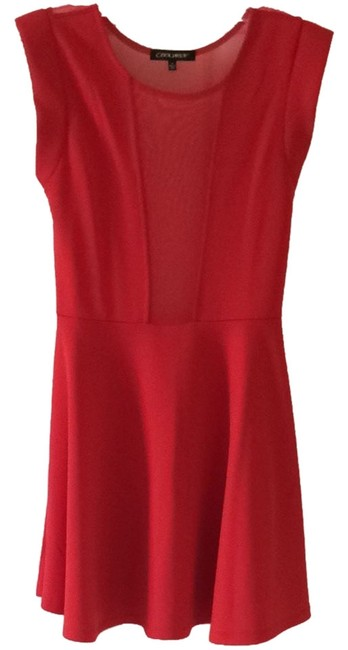 Preload https://img-static.tradesy.com/item/1162489/coolwear-red-mini-night-out-dress-size-8-m-0-0-650-650.jpg