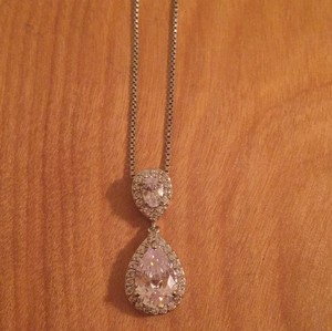 Pear Shaped Pendant Necklace