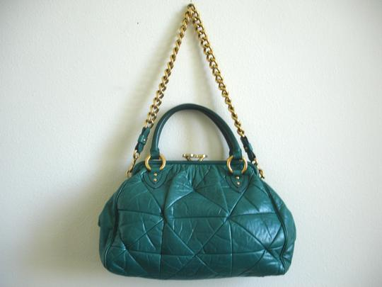 Marc Jacobs Quilted Quilt Medium Large Quilts Quilted Handbags Quilted Quilted Quilted Handbags Chunky Chain Chain Strap Shoulder Bag Image 3