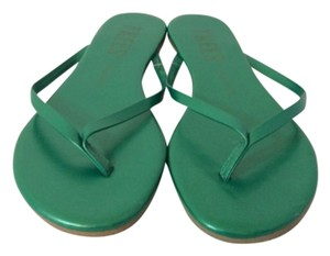 TKEES Basil Green Sandals