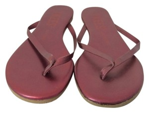 TKEES Red Sandals